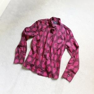J. Crew Perfect Shirt sz 00
